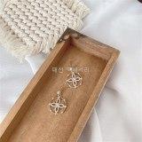 Sterling Silver Needle Personalized Stylish Flower Earrings Gold Plated Fashion Internet Celebrity Earrings Ear Studs