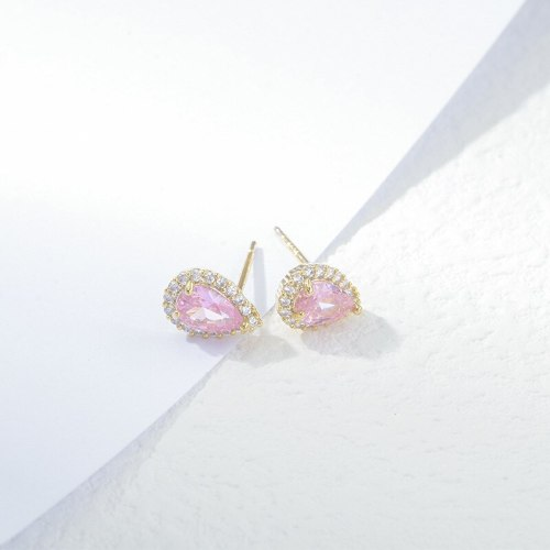 One Card Three Pairs Earings Set Sterling Silver Needle Ear Rings Fashionable All-Match Simple Female Stud Earrings