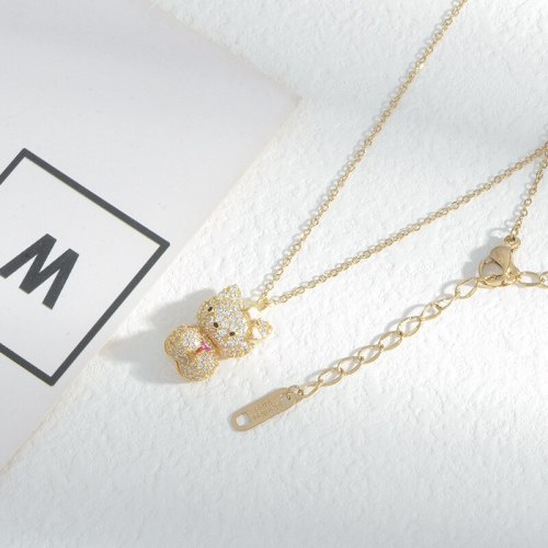 Korean Fashion Micro Inlaid Zircon fully-jewelled Necklace Female Cute Personality Wild Clavicle Chain Jewelry