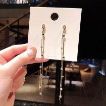 wholesale 925 Silver Pin Earrings Women's Earrings Long Elegant Ear Threads Earrings