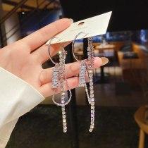 Wholesale New Earrings Long Eardrop Stud Earrings Jewelry Gift