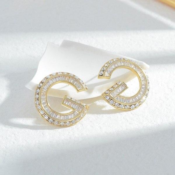 Wholesale Zircon Ear Studs Women's Earrings Jewelry Gift