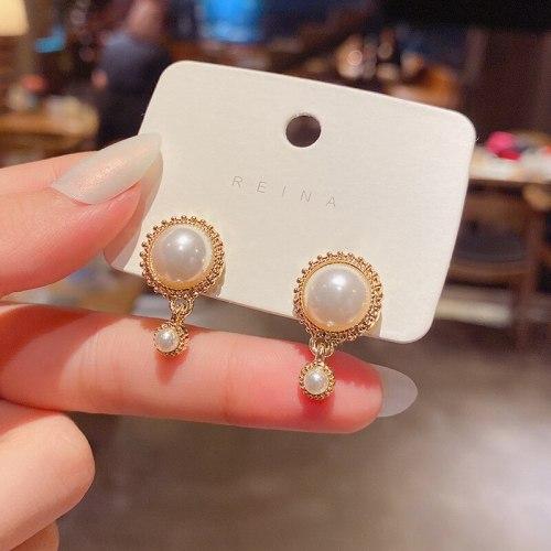 Wholesale New Style Pearl Earrings Women Girl Lady Baroque Earrings Dropshipping Jewelry