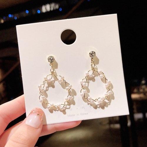 Wholesale New Earrings Long Eardrop Stud Earrings Women Dropshipping Jewelry