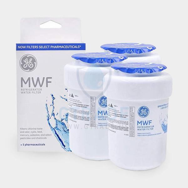 GЕ MWF Refrigerator Water Filter GE Smartwater MWFP Water Filter, 3-Pack