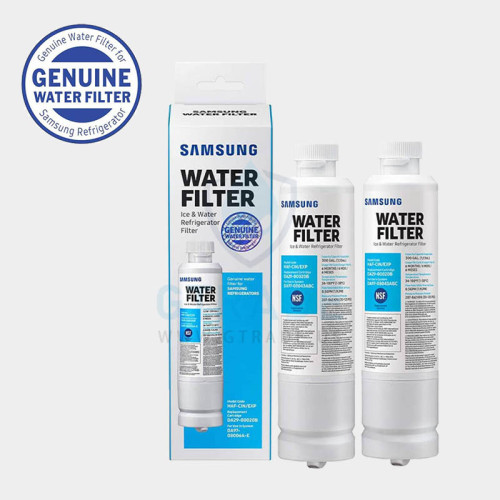 Samsung 20BF Refrigerator Water Filter, 2 Pack, White, 2