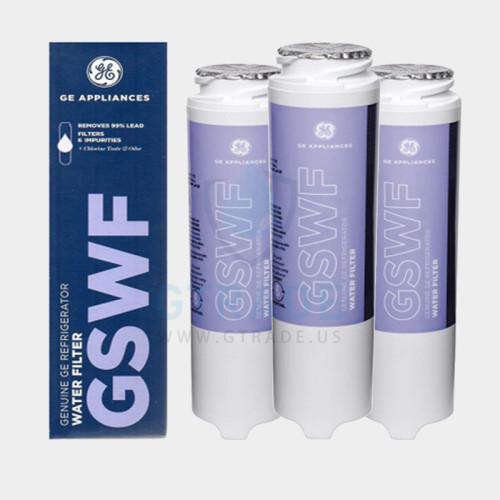 GE GSWFscreen printing  Refrigerator Filter  3pack