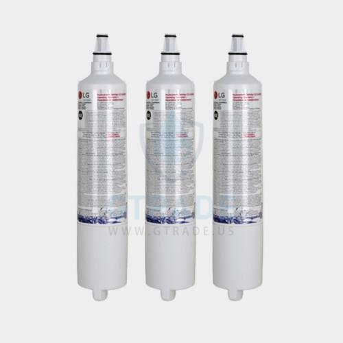 LG LT600P Refrigerator Water Filter 3pack (NSF42 and NSF53 5231JA2006A, 5231JA2006B, 5231JA2006F, or 5231JA2006F