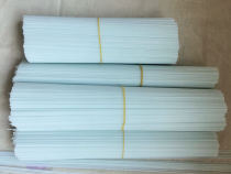 A+ Unpainted Clear Solid Fibreglass Stems Rods for Pole Foat