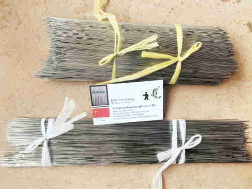SS304 Stainless Steel Rods Straightened Bright Surface 0.6 0.7 0.8 1.0mm