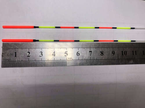Solid Antennas 28cm with bold Red Top for Float