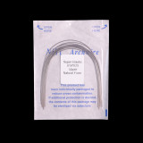 1 BAG/ PACK Dental Orthodontic Arch wire Super Elastic Niti / Stainless Steel Rectangula/Round Arch Wire Natural/Ovoid Form