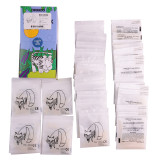 5000pcs/50Bags Dental Orthodontic Super Elastic Rubber Band  3.5OZ 5 Sizes Choosable