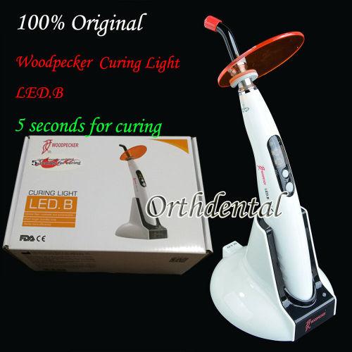 Original Woodpecker Dental Wireless LED Curing Light  Lamp 1400mw LED.B 5s Curing
