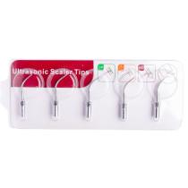 5Pcs Dental Ultrasonic Scaling Tip GD1--GD7 Air Piezo Scaler Endo Perio Tips Fits SATELEC DTE Handpiece