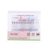 Dental Diamond Burs Composite Polishing Kit for Low-speed Handpiece RA0109/RA0309/RA0309-2