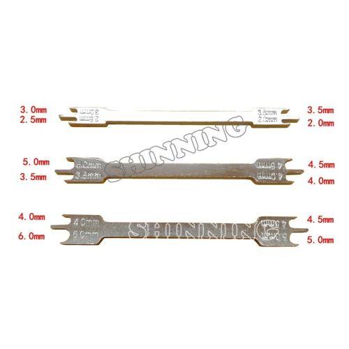 Dental Orthodontic Bracket Positioner Height Gauge Instruments Fit 0.018