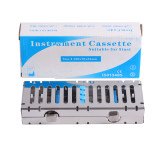 Dental Autoclave Sterilization Cassette Rack Tray Box for 5 &10 Surgical Instrument Stainless Steel