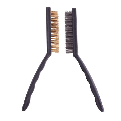 Dental Burs Stainless Steel Brass Wire Brush Bur Polishing Brush
