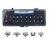 20Pcs/pack Alexander  Dental Orthodontic Brackets Orthodo Braces MIM 018/022 Hooks 345