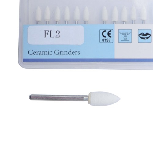 1Pack Dental Orthodontic White Stone Polishing Kits FL2