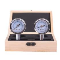 2Pcs/Box Dental Pressure Gauge Test Handpiece 0-100 PSI 2/4 Holes Pressure Meter