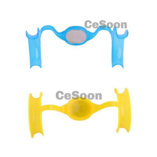 Dental Orthodontic Mouth Opener Cheek Lip Intraoral Retractor M Shape Plastic Expanders
