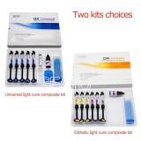 1 KIT Orthodontic Light Cure Bracket Adhesive Composite kit Bonding System Glue Paste dental tools