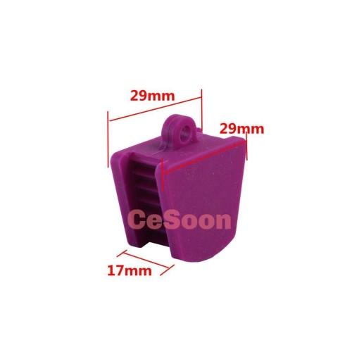 3Pcs  Dental Mouth Props Silicone Bite Blocks Rubber Autoclavable Adult/Child 3 Colors Inside