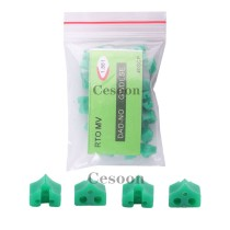 40Pcs/Bag Add-on Wedges Dental Matrix Matrices Add-On Silicone Wedges Orthodontic Teeth Filling