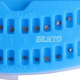 Dental Orthodontic Passive Self-Ligating Brackets Roth/MBT022 Hook3/Hook345 with Tool