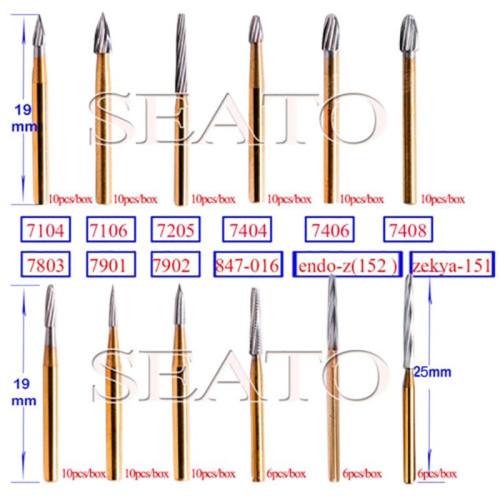 Dental Surgical Bur Burs Carbide Burr Tungsten Steel Drill Bone Cutter FG Zekrya Endo Z