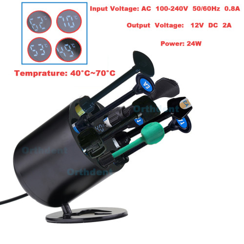 Dental AR heater temperature adjustable 40~70°C heating machine composite resin heater composite material heater