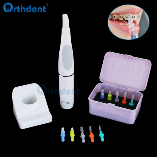 Dental oral electric LED polishing machine cleaning teeth stains tartar whitening polishing kit