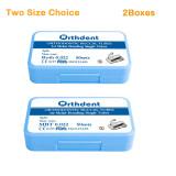2 cajas 400 Uds tubos bucales de ortodoncia unión no convertible soldadura dividida 1er molar MBT Roth 022
