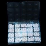 1000pcs/50sets Dental orthodontics Roth.022 3-4-5 hooks Ceramic Brackets braces