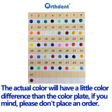 Orthdent 1040 Pcs / Pack Dental Orthodontic Ligature Ties Elastic Rubber Bands Varieties Colors To Choose From
