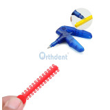 1040 Pcs / Pack Dental Orthodontic Ligature Ties Elastic Rubber Bands Varieties Colors To Choose From