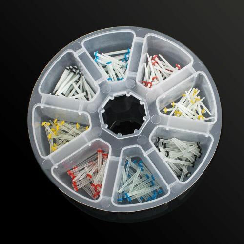 200 Pcs Dental Fiber Post Glass Quartz Teeth Restorative 1.2 1.4 1.6 1.8mm