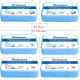 200Pcs Dental Orthodontic Buccal Tube Kit Split MBT&Roth 022/018 1st/2nd Molar Non-convertabble Bondable  Buccal Tubes