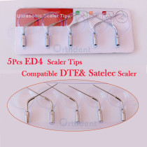 5Pcs/lot Dental Scaler Tips ED1--ED5 Compatible DTE& Satelec Scaler Dental Equipment