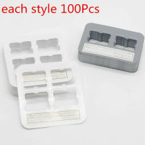 100Pcs Dental Clinic Universal X-Ray Film Mount Frame 2/4Holes For Clinic Record