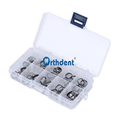 10Set/40Pcs Dental Orthodontic Braces Preformed Space Maintainer Band Loop 1st/2nd Molar (32#-41#) /(31#-40#)