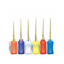 6Pcs/Pack Dental File Endodontics Root Canal Super NiTi Hand Use 21/25 MM Assorted Size SX-F3