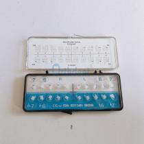 20Pcs/Kit Dental Ceramic Brackets Orthodontic Braces Roth/MBT 022 Hooks 3-4-5/3