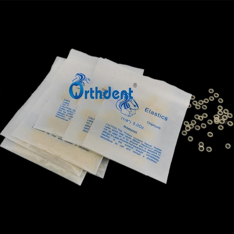 5000Pcs/Box Dental Orthodontic Rubber Bands Ortho Elastics Latex Braces 3.5 / 4.5/5.0 / 6.5 OZ