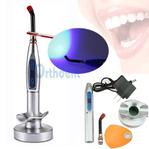 1Pack Dental LED Rainbow Curing Light Lamp 5 W Wireless Cordless Composite Resin Material Machine