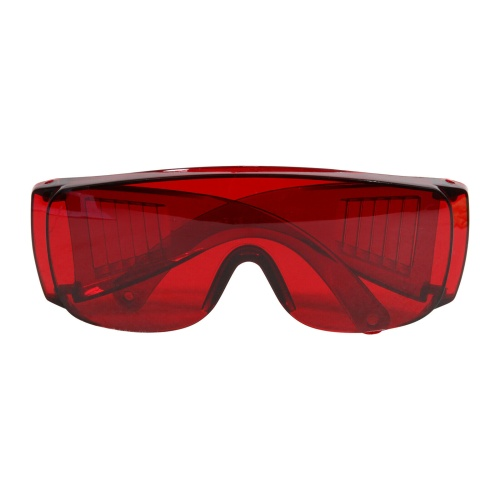 1Pc Dental Protective Eye Goggles Anti-fog Glasses with Adjustable Frame for Dentist Red