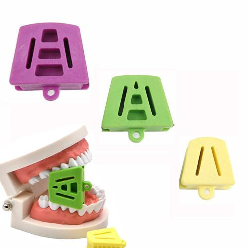Dental Silicone Latex Mouth Prop Bite Block Rubber Opener Retractor Orthodontic Accessories