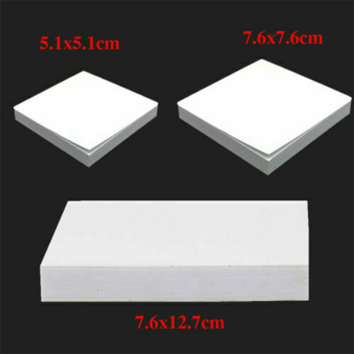 100 Sheets Dental Disposable Mixing Pads Paper/Poly Impression Coated 2 Side S /M /L